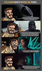 KYLE KATARN reacts to ROGUE ONE teaser... by Kubi-Wan