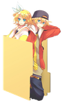 Len and Rin [Vocaloid] by Hinatka3991