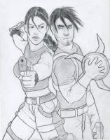 Lara and Kurtis by CrystalGlacier