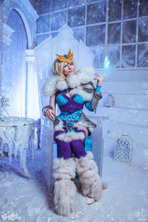 Crystal maiden cosplay  Dota 2 by amio-mio