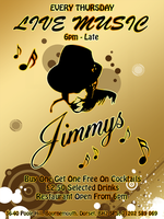 Jimmys Club Flyer by Cypher7523