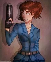 Fallout: Emilee(Trade) by SatiricalKat