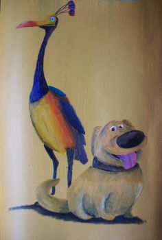 Dug And Kevin by billywallwork525