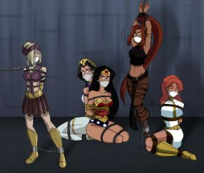 Ares 5 Amazons 0 by caocaothedeciever