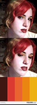 Misc. - lackadaisical makeup by ShiversTheNinja