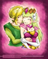 Link and Zelda Passion by KevinWerty