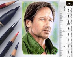 X-Files sketchcard by whu-wei