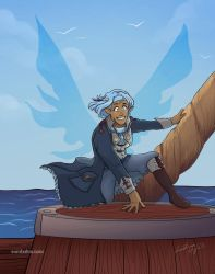 Pirate Fairy Aleila by TheDelphina