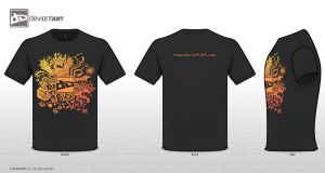 T-shirt orange by Sunima