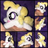 4.5 inch mini Surprise plushie V1 ::Commission:: by RubioWolf