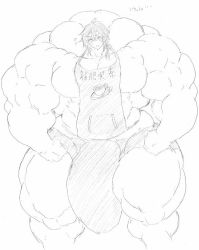 Muscle giant cafe. by me-go