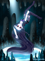 Marceline's Darkness Caverns by VictoriaLynnDesigns