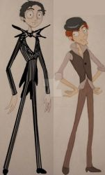Jack and Bonejangles alive by Lily-pily