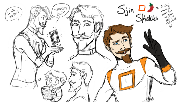Sjin Redraw by ArtisticPleasantries