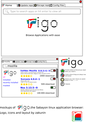 rigo applications browser's icons and logo by zakunin