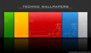Techno Wallpapers by shoden23