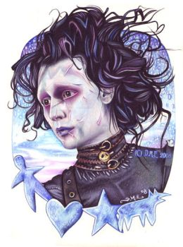 Edward Scissorhands by tavington