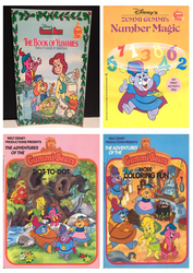 Gummi Bears Activity Books by CCB-18