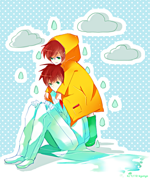 Rain Coat (Color Tut Download) by kyunyo