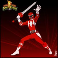 The Red Ranger by Kristele