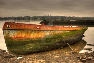 Boat at Bowling by stut