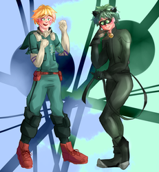 Miraculous x BNHA: Hero Switch 2 by Tacky-tella