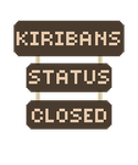 Kiribans Closed Signs by Meadows-Resources