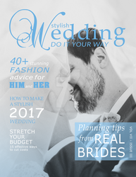Cover for a Wedding Magazine by LisasDezign