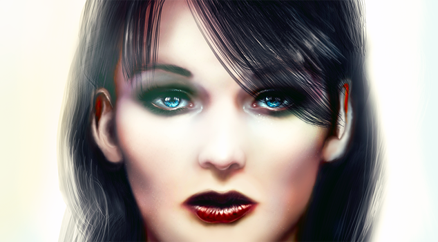 Realism Digital Painting from imagination: Finishe by Dex91