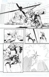 Secret Avengers sample page 21 by jakebilbao