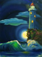 Lighthouse by SChappell