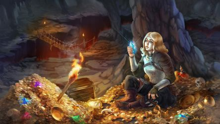 Secret Treasure by delira