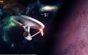 51 Years of STAR TREK by Euderion