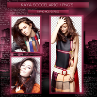Pack png 01 // Kaya Scodelario by dirty-life