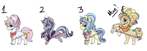 More MLP Shipping adopts *CLOSED* by HazeyMoonlight