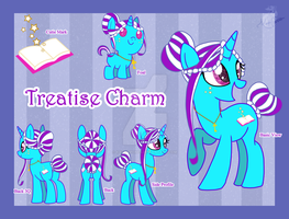 Treatise Charm Reference Sheet by Kazziepones