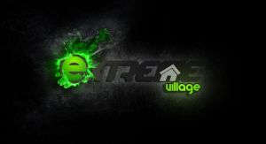 Extreme Village Logo 2.0 by capdevil13