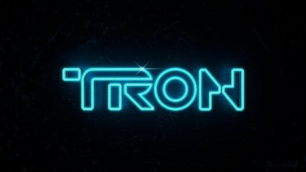 TRON Logo Beta by polygonbronson