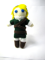 Link Plush by Ginger-Storm