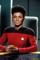 Captain Uhura Star Trek Nichelle Nichols by gazomg