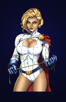 Power Girl by kiarakiller