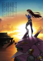 D.Va Sunset by Reabault