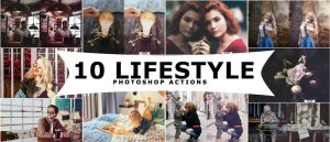 Lifestyle Photoshop Actions by ViktorGjokaj