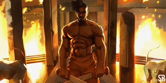 killmonger explore killmonger on deviantart. Black Bedroom Furniture Sets. Home Design Ideas