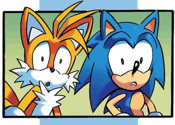 Sonic n tails in Shock by Sonic-Ray