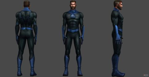 Mr Fantastic FF by SSingh511