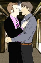 Jack and Ianto Collab with RJL by starlight1164