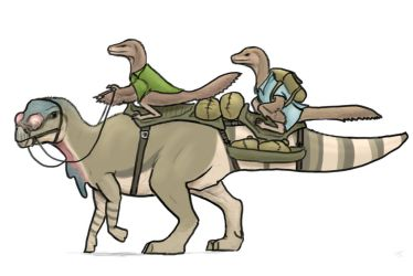 Traditional Transport by McTalon