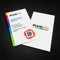 Free PSD: Print Shop Color Business Cards by thearslan