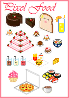 Pixel Food by TheBealtes